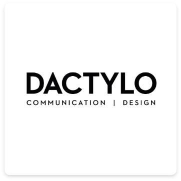 Logo Dactylo communication design